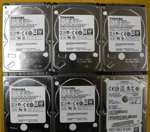 Жесткие диски HDD 2.5