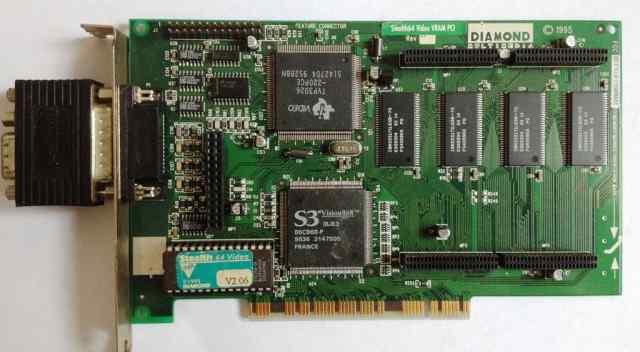 Видеокарта PCI S3 Diamond Stelth64