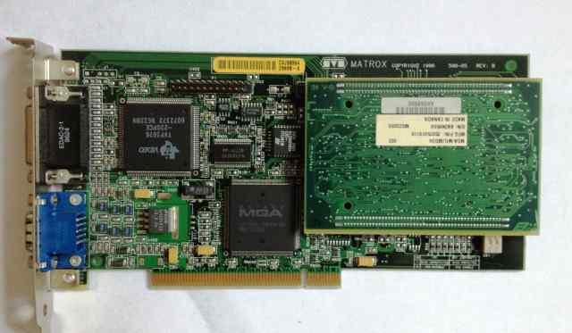 Видеокарта PCI Matrox MGA-MIL/4N