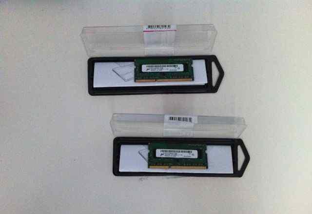 Память для Macbook / Mac mini, 2 x 2GB DDR3 sdram