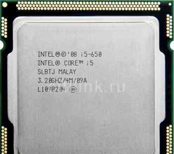 Процессор intel, Core i5-650 Processor