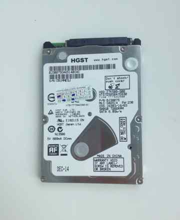 Жесткий диск hgst Z7K500-500 500гб, 7200rpm, 2.5