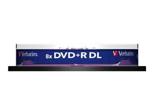 Диски DVD+ R 8.5Gb Verbatim