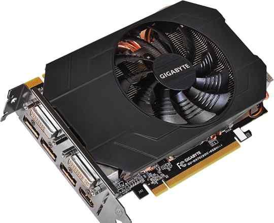 Видеокарта nVidia GeForce GTX970 Gigabyte