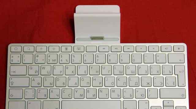 Док станция с клавиатурой для iPad 1/2/3
