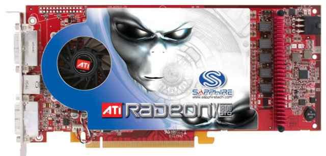 Sapphire Radeon X1800 GTO 500Mhz PCI-E 512Mb
