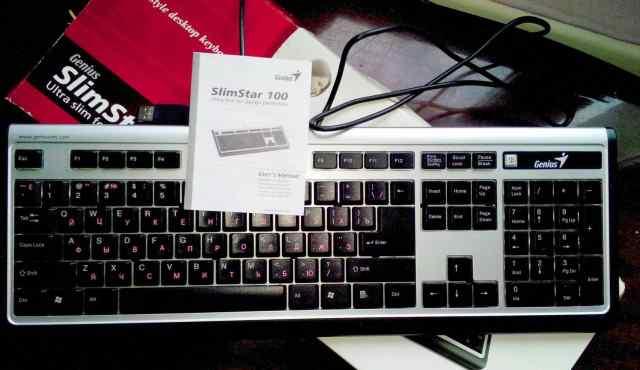 Клавиатура Genius SlimStar 100 б/у