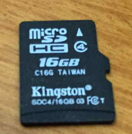 Kingston Micro SD 16 GB