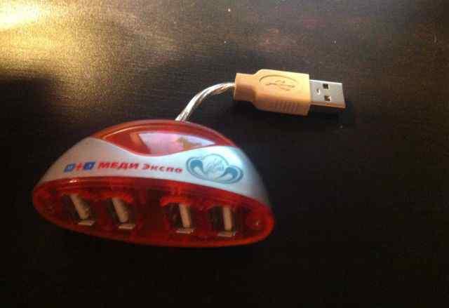 USB-разветвитель 1X4