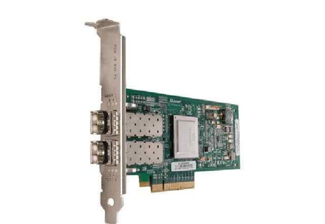Адаптер контроллер QLogic Fibre Channel QLE2562-CK