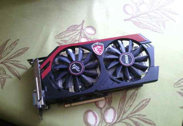 Видеокарта nvidia GeForce GTX 660 2048 Мб
