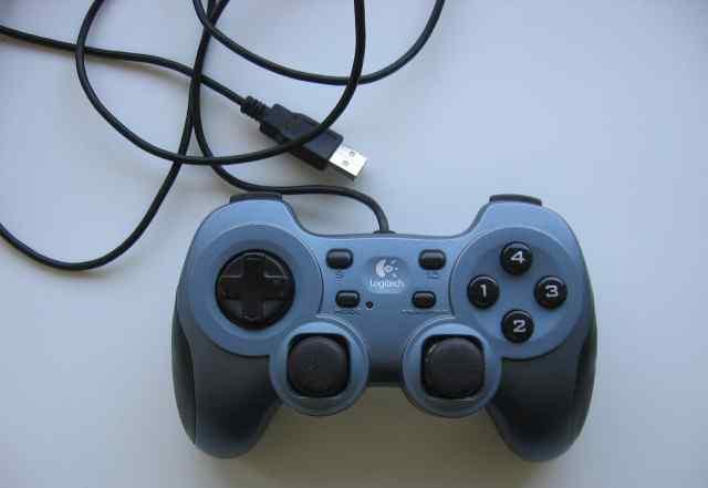 Геймпад logitech Rumblepad II аналог DualShock 3
