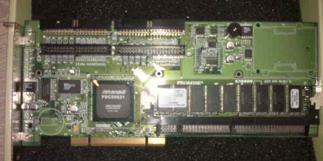 Promise FastTrack SX4000 (+ 256 Mb sdram установл)