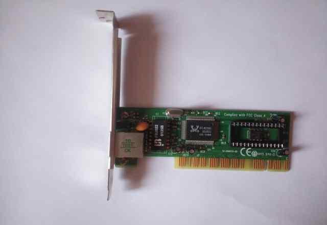 Сетевая карта 100 Мбит под слот PCI