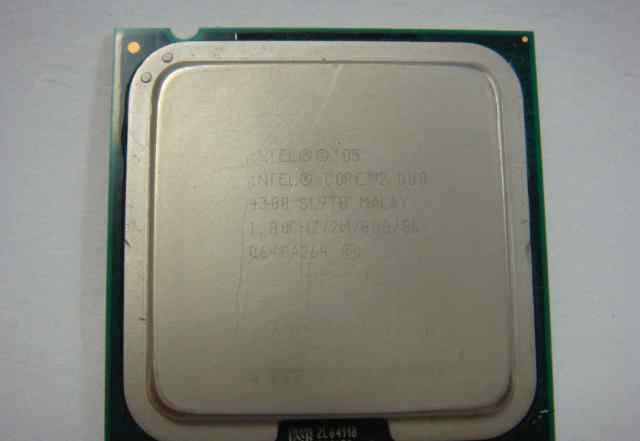 Процессор Core 2 Duo E4300 1.8 ггц б/у
