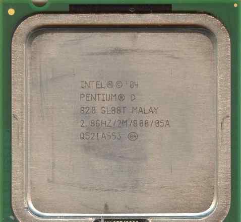 Pentium D 820 2.8GHz LGA 775