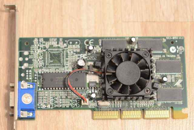Видеокарта nvidia GeForce2 MX400 64MB AGP