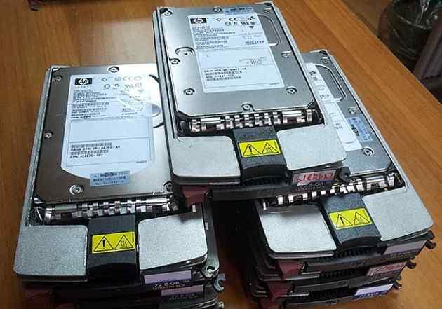 HDD HP ultra320 scsi 72G