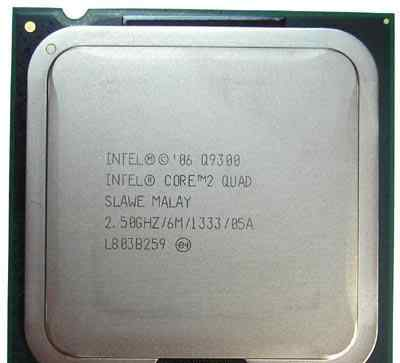 Процессор Intel Core 2 Quad Q9300 (2.50G) s775 Б/У