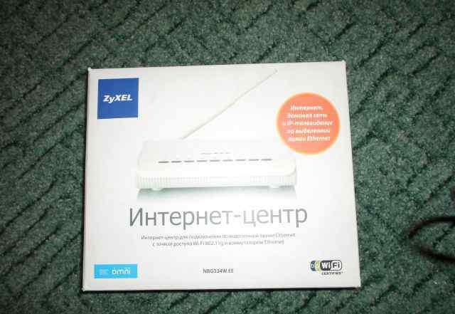 Интернет - центр zyxel NBG334W EE