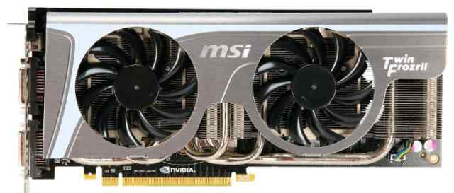 Nvidia Msi 480 Twin Frozr II
