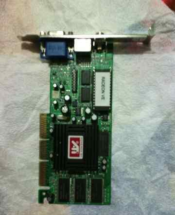 Видеокарта ати радион 7000, AGP