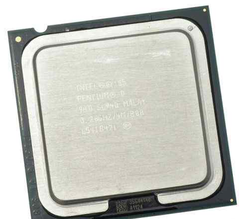 Процессор Intel Pentium D 940 Presler + материнка