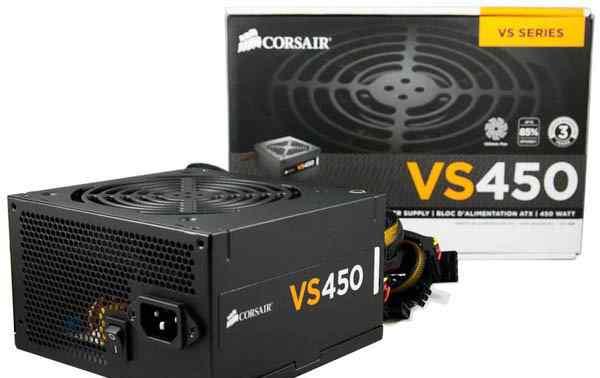 Блок питания Corsair VS450 новый, запечатанный