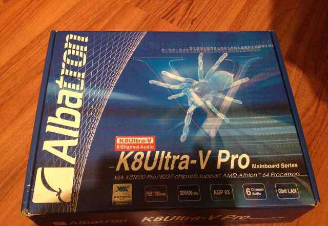 Материнская плата Albatron K8Ultra-V Pro