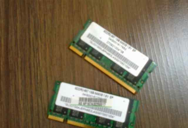 SO-dimm DDR2-667 2Gb для ноутбука