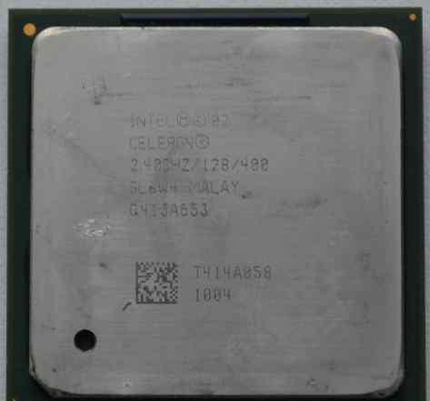 Процессор Intel Celeron (2.4 ггц, Socket 478)