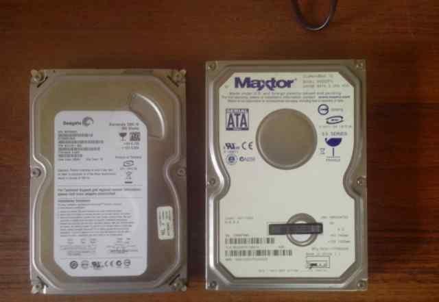 2 жестких диска 500 GB