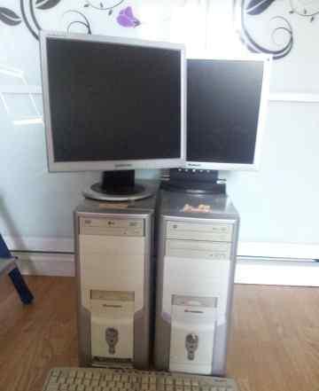 2 офисных компьютера