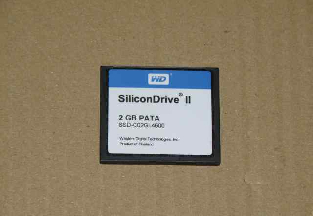 Карта памяти Compact Flash WD SiliconDrive 2Gb