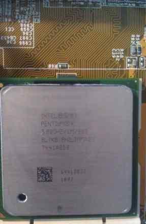 Intel Pentium 4 3.0 ггц, Socket 478