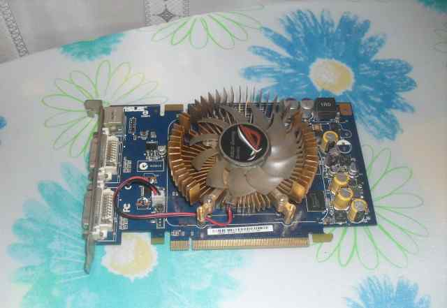 Видеокарта asus GeForce 8600 GT 540Mhz PCI-E 256Mb