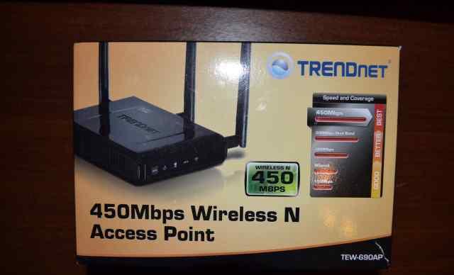 Новая WiFi Точка доступа trendnet TEW-690AP