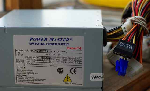 Блок питания ATX Power Master