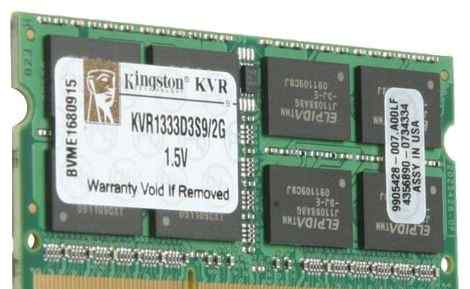 DDR3 sodimm Kingston KVR1333D3S9/2G