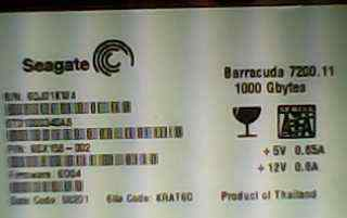 Seagate Barracuda 7200.11 (1000 Gb) 1тб