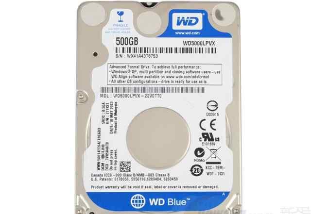 WD Blue WD5000lpvx