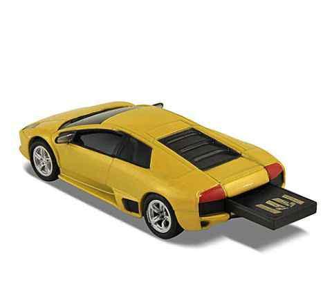 Подарочная машинка-флэшка Lamborghini Murcielago