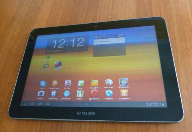 Samsung GT-P7500 Galaxy Tab 10.1 64 Гб 3G Black