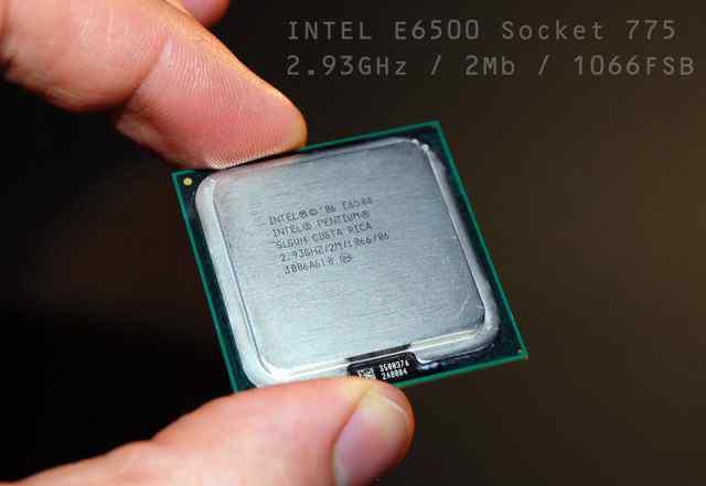 Intel E6500 2.93GHz /2Mb/ 65W/ 1066MHz LGA775