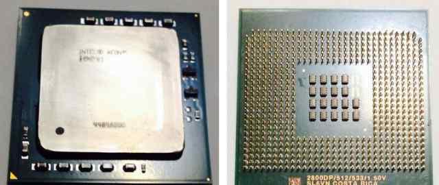 Процессор Intel Xeon 2.80GHz (512K, 533MHz)