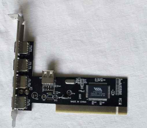 USB контроллер на VIA