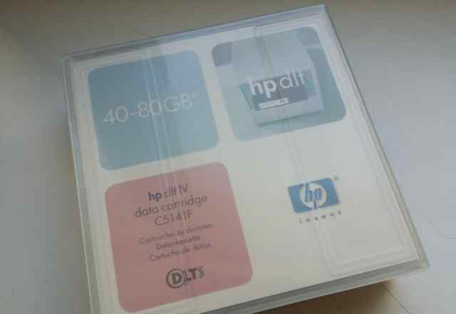 HP DLT IV data cartridge (C5141F) 40-80GB