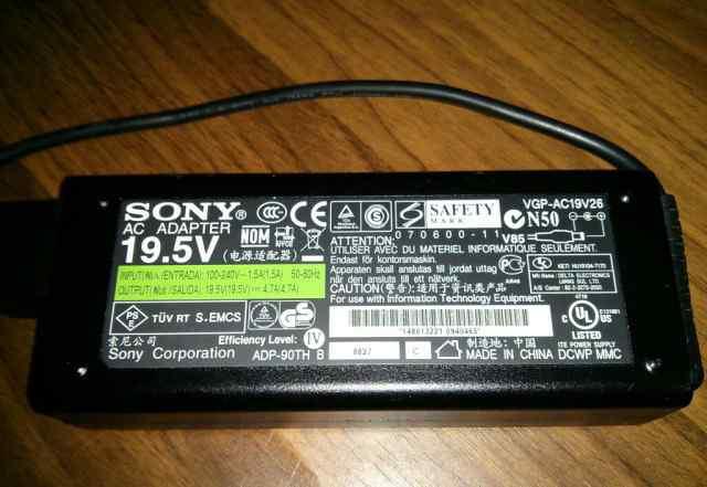 ������������ �������� ���������� Sony Ac19v26 �/�