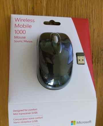 Компьютерная мышь wireless mobile 1000