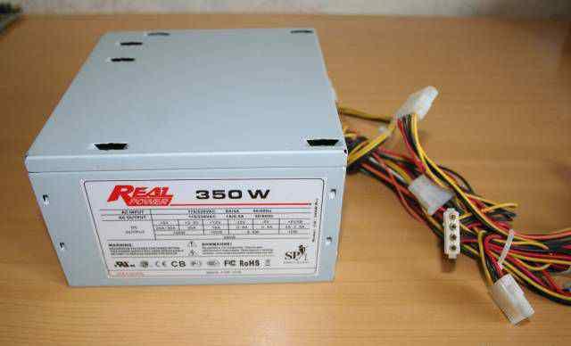 Блок питания real power 350W